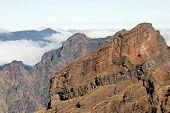 Montanha da costa leste da Madeira