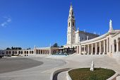 A huge tower and a marble colonnade around the square. The grand memorial and religious complex in t