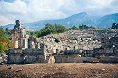 Ancient Amphitheatre Ruins