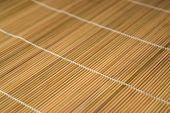 Brown Wooden Mat