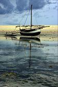 Barco e reflexo