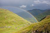 Rainbow in the Alps