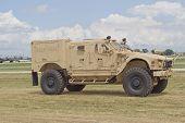 Humvee At Eaa Driving By