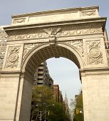 Arch In Washington Square Park In Nyc