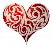 St. Valentines Heart Shape