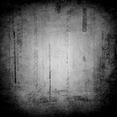 Grunge background in black / white