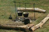 Colonial Campfire--revolutionary War Reenactment