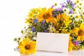 Buquê de flores de verão