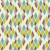 seamless retro diamond pattern 2