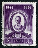 Postage Stamp Russia 1944 Nikolai Andreyevich Rimski-korsakov, C