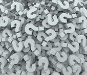 foto of wonderful  - A background of question mark signs and symbols to illustrate learning - JPG