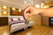 Keys to modern apartment