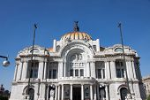 Palacio De Bellas Artes, Mexico City..