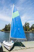 Single Person Sail Boat