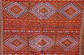 Abstract Detail Of Moroccan Carpet