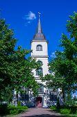 Baltezers church in Latvia