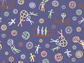 Pattern Petrogliph