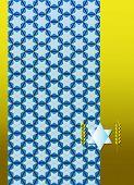 israel ornament background
