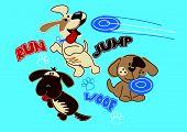 Run Jump Woof Puppys