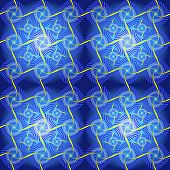 Color seamless blue and yellow background, vector design