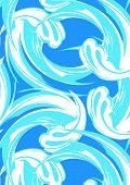 Surf Wave Pattern.