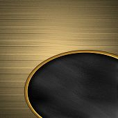Golden texture with black neck. template for design