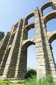 Miracles aqueduct in Merida, Spain