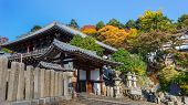 Nigatsu-do Hall of Todaiji complex  in Nara