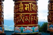 Prayer wheels for meditation