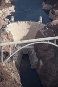 Hoover Dam (Ariel view)