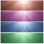 Sunny banners