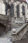 Stairs Near The Catholic Cathedral