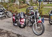 Honda Shadow With Sidecar