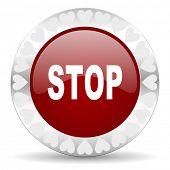 stop valentines day icon