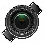 Lente da câmera