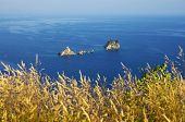 Katic and Sveta Nedjelja are two rocky islet opposite the town of Petrovac, Montenegro. The church S