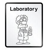 Laboratory Information Sign