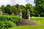 Rear Gateway To The Formal Gardens Of Pollok House, In Pollok Estate, Glasgow