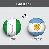 stock photo of nigeria  - Group F Match Nigeria v - JPG