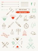 foto of bundle  - set of vector icons - JPG