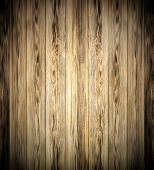Background of an old natural wooden darken room with messy and grungy cracked tree floor of beech te
