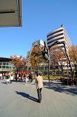 Tokyo, Japan - November 23: People Visit The Spider Sculpture In Roppongi Hills