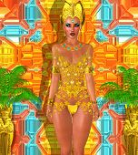 Egyptian Gold Fantasy.