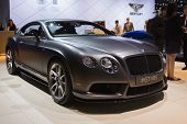 Bentley Continental Gt V8 S On Display