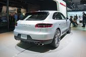 Porsche Macan S 2015 On Display