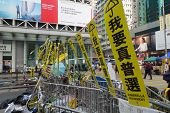 Hong Kong Democracy Protesters Are Fighting Off Their Chief Executive