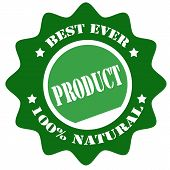 Product-label