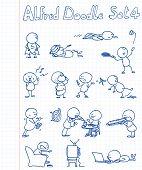 Alfred Doodle Set 4