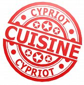 Cypriot Cuisine Stamp