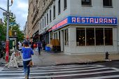 Famous diner in Manhattan